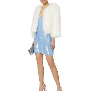 Fleur Du Mal Sequin Mini Slip Dress